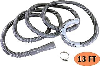 13FT Washing Machine Drain Hose Extension, Full 12ft Long when Using the Hanger Bracket,..