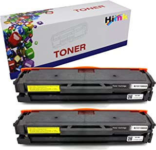 HIINK Compatible Toner Cartridge Replacement for Samsung D111S MLT-D111S 111S Toner Cartridge Use in Xpress SL-M2020W, SL-M2022, SL-M2022W, M2070, SL-M2070FW, SL-M2070W Printer (Black 2-Pack)