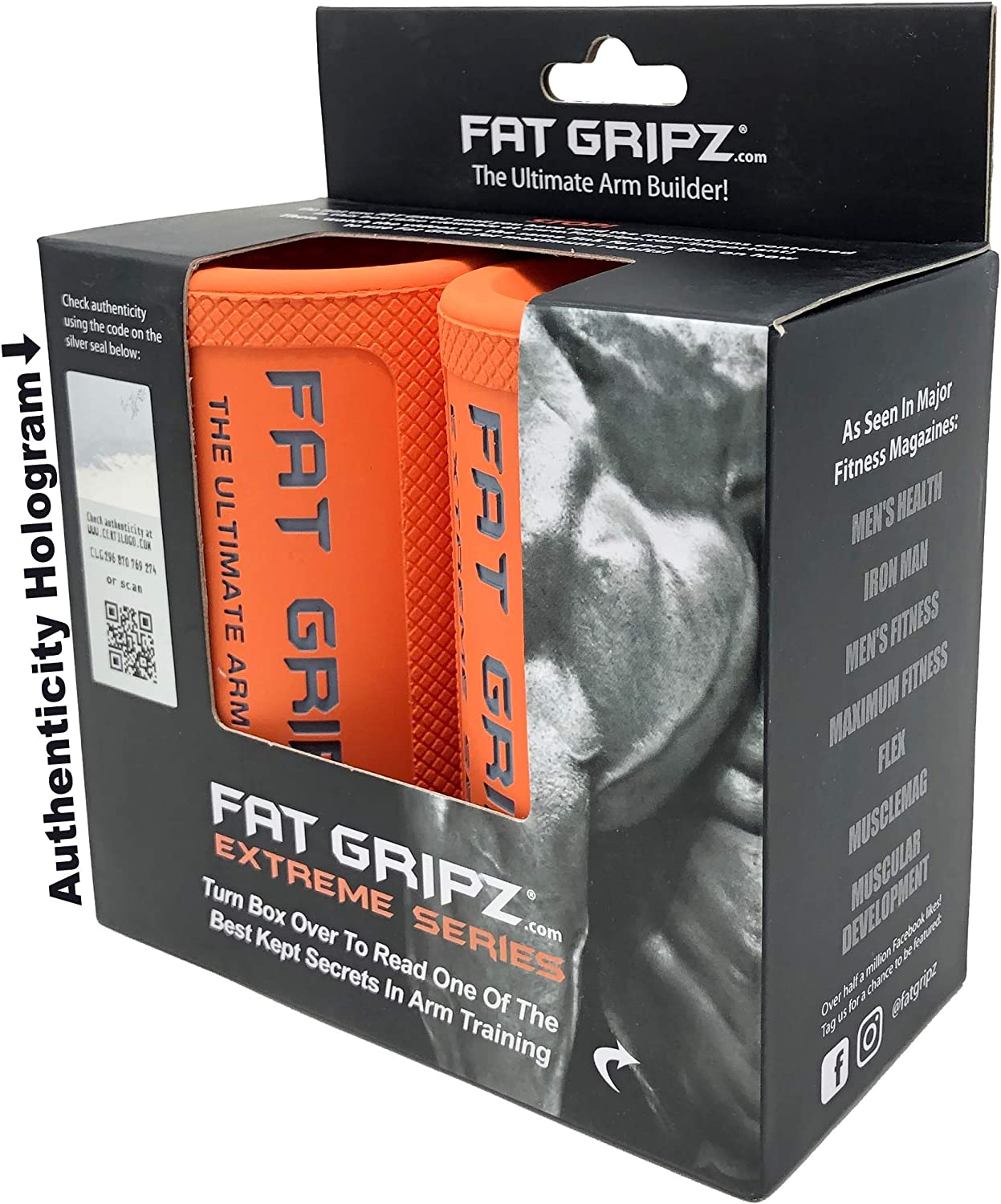 Fat Gripz Extreme 2.75 Inch Attention brand Diameter quality assurance Outer