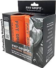 Fat Gripz Extreme haltergrepen (7 cm diameter, oranje)