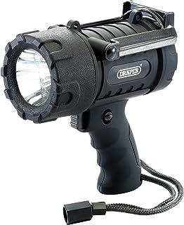Draper 51754 Expert 5W CREE LED Wayerproof Torch (3X AA Batteries) 5 W