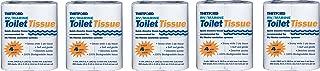Thetford 20804 RV/Marine Toilet Tissue fQZtuZ, Single Ply, (20 Rolls Total)