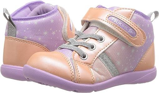 Peach/Lavender