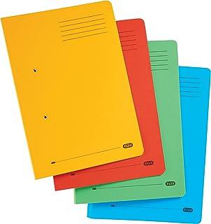Elba, Foolscap Spring Files, Assorted, 10 Folders