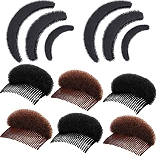 10 Pieces Bump Up Hair Set Styling Insert Braid Tool Bump It Up Volume Hair Comb Hair Bump Base for Women Girls Hair Accessories