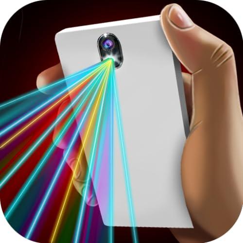 Laser 100 Beams Fun Joke (NO ADS)