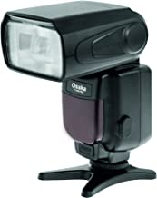 Osaka Camera Flash Speedlite Speedlight TT990 with 18-180 Manual Zooom for Canon, Nikon, Sony, Olympus, Pentax & All Other DSLR Cameras GN72