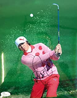 Autographed Rickie Fowler Photograph - 2009 US Open 8x10 N35192 - JSA Certified - Autographed Golf Photos