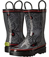 Western Chief Kids - Spider Web Crawl Rainboots (Toddler/Little Kid/Big Kid)