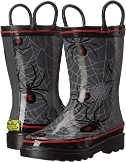 Spider Web Crawl Rainboots (Toddler/Little Kid/Big Kid)