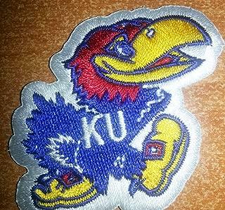 University of Kansas Jayhawks Embroidered Iron On Patch