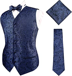 Best navy blue tuxedo vest and bow tie Reviews