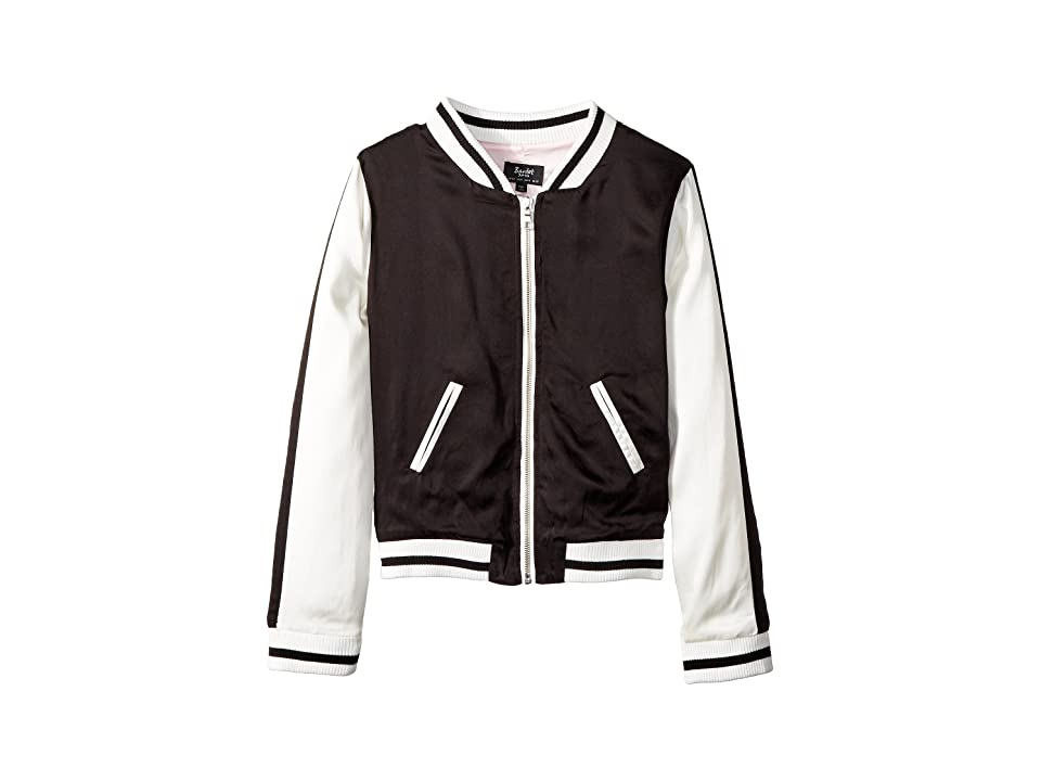 Bardot Junior Tropics Bomber (Big Kids) (Black) Girl