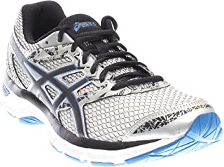 ASICS Gel-Excite 4 Mens Running Shoe, Silver/Black/Imperial, 8