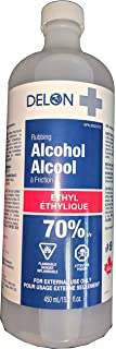 Delon+ Isopropyl Rubbing Alcohol 70% U.S.P. Sterilization Solution Made in Canada