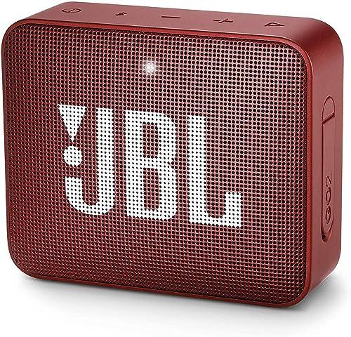 JBL GO 2 Altavoz inalámbrico portátil con Bluetooth Parlante resistente al agua IPX7 hasta 5h de reproducción con son...