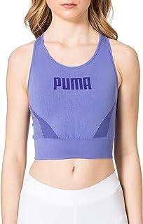 PUMA Women's Evostripe Evoknit Bra Top Sports Bra