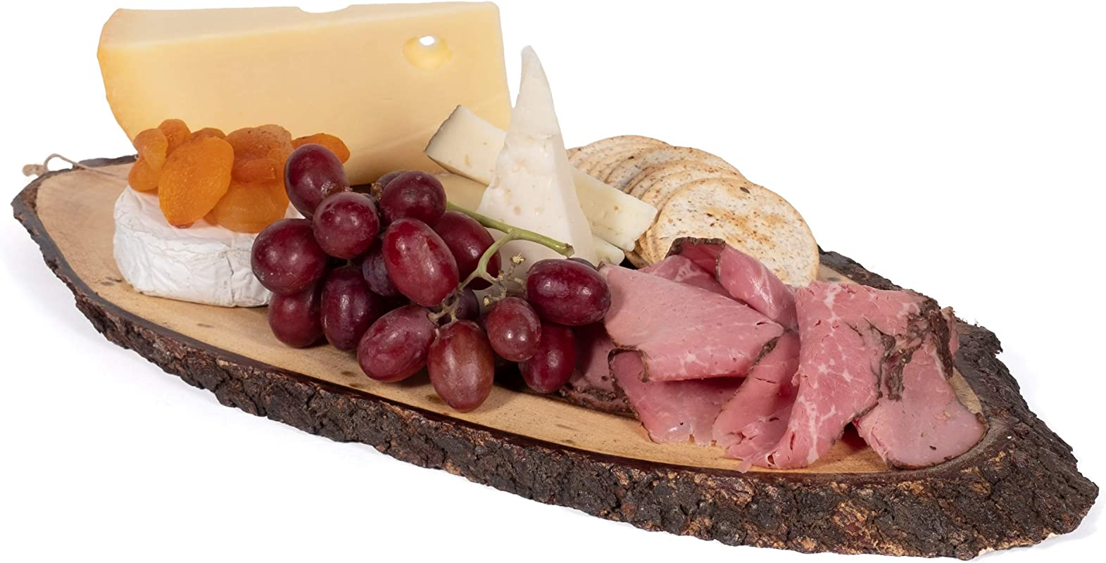 Wall Hanging Decor Cheese Charcuterie Serving Board 100 Real Acacia Wood 18 Inches Long