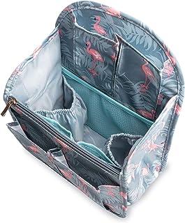 Yisigaインナーバッグ 軽量防水収納バッグ バッグインバッグ 収納力抜群 仕分け デイパックフラミンゴバックパックバッグbag in bag 27cm×19.5cm×11cm