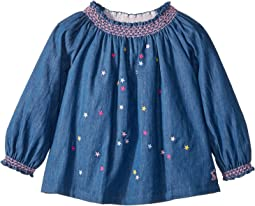 Star Embroidery Woven Top (Infant)