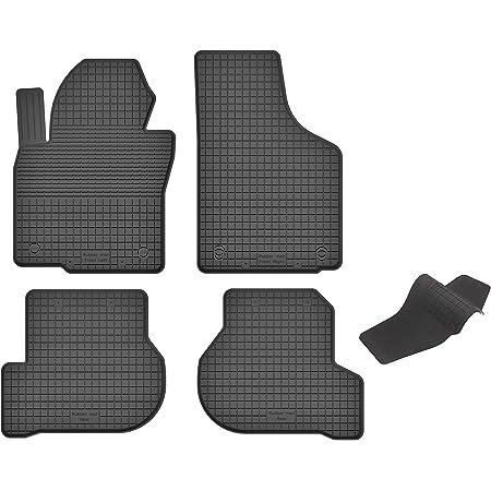 Ko Rubbermat Gummimatten Fußmatten 1 5 Cm Rand Geeignet Zur Seat Altea Altea Xl 2004 2015 Ideal Angepasst 4 Teile Ein Set Auto