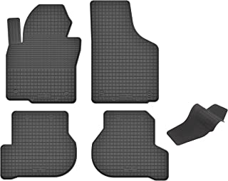 KO RUBBERMAT Gummimatten mit Tunnel geeignet zur SEAT Altea/Altea XL (2004 2015) ideal angepasst 5 Teile EIN Set