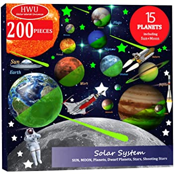 Solar System Planets Multipurpose Reward Sticker Labels