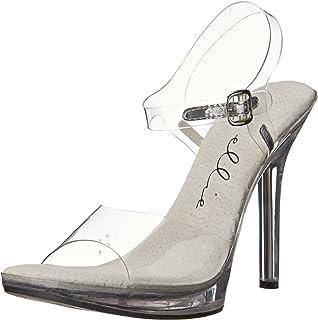 f977e1310f2 Ellie Shoes Women s 502 Brook Clear Dress Sandal