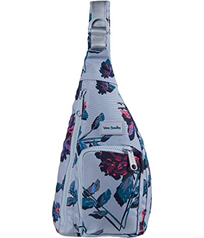 Vera Bradley ReActive Mini Sling Backpack (Neon Ivy) Backpack Bags