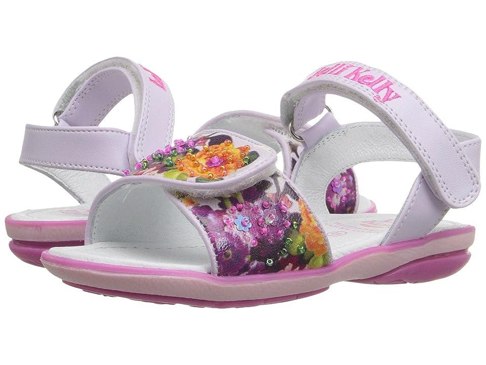 Lelli Kelly Kids Bella Sandal (Toddler/Little Kid) (Lilac Fantasy) Girls Shoes
