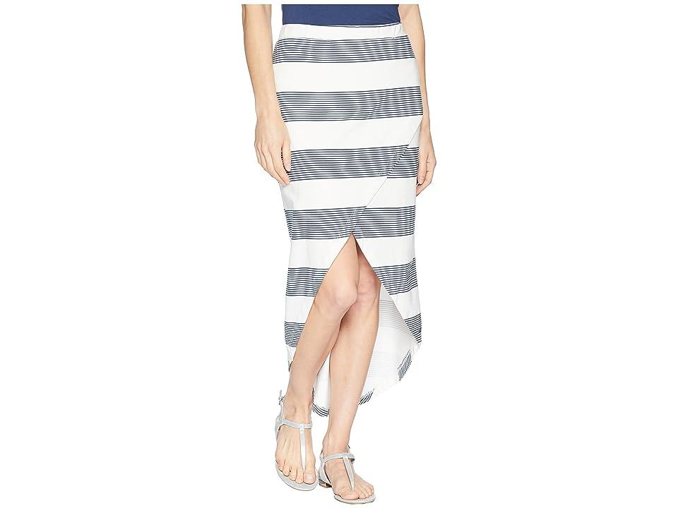 Roxy Romantic Ocean Stripes (Marshmallow Dress Blue Docker) Women