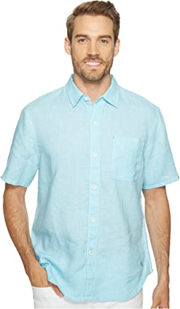 Sea Glass Breezer S/S Camp Shirt