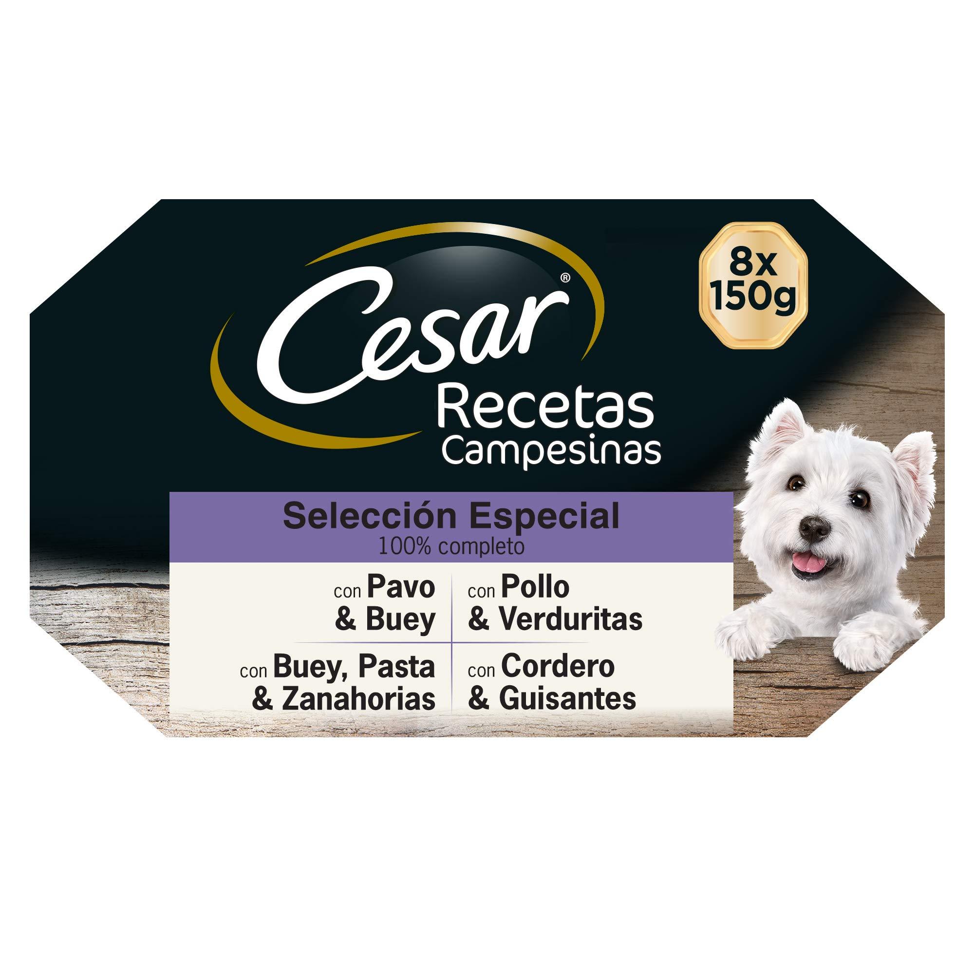 Multipack de 8 tarrinas de Recetas campesinas para perro de 150g ...