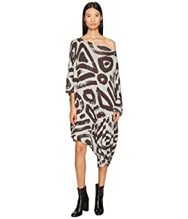 Patron Printed Dolman Sleeve Dress