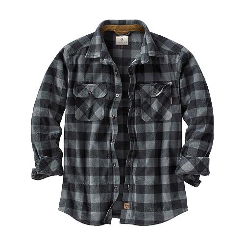 3c3cb8e98441b0 Legendary Whitetails Men's Navigator Fleece Button Up Shirt