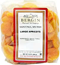 Bergin Fruit and Nut Company, Turkish Jumbo Apricots, 16 oz(pack of 2)
