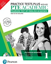 PTE Academic Practice Tests Plus (with key) by Pearson (Pearson Test of English Academic) [Paperback] [Jan 01, 2018] Pears...