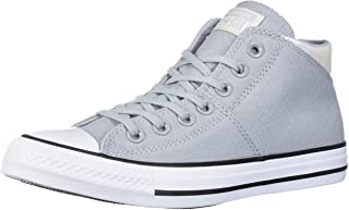 Converse Women's Chuck Taylor All Star Madison Mid Top Sneaker, Wolf Grey/White/Black, 9 M US