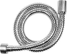 200cm Brauseschlauch Duschschlauch Silber Glatt Drehkonus Chrom von 60cm 200cm