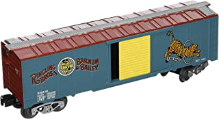 Bachmann Industries Ringling Bros. and Barnum & Bailey 40' Box Car 33 Tiger O Scale Train