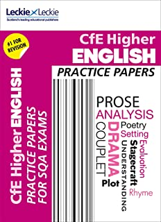 Practice Papers for SQA Exam Revision – Higher English Practice Papers: Prelim Papers for SQA Exam Revision