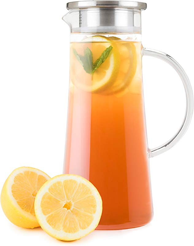 PINKY UP 5096 Charlie Glass Iced Tea Carafes Clear