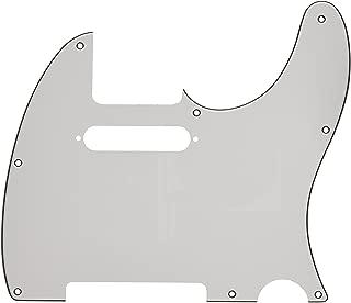 Fender Modern Pickguard, Telecaster, 8-Hole - White 3-Ply