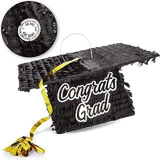 Graduation Cap Pinata, Congrats Grad (12.5 x 5.5 in)