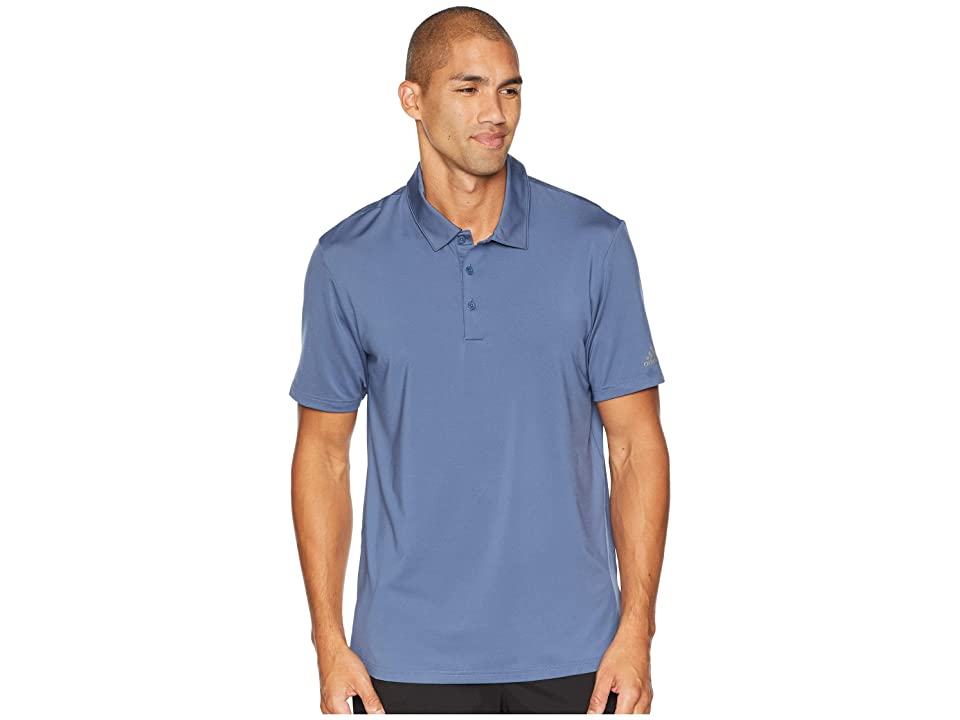 adidas Golf Ultimate Solid Polo (Tech Ink) Men