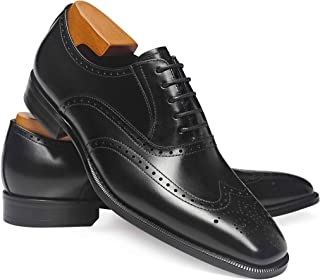 Frasoicus Men's Dress Shoes Classic Leather Business Oxfords Formal Dress Shoes for Men
