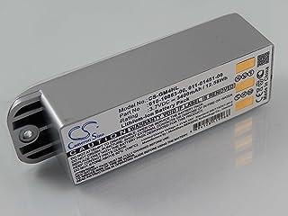 vhbw Li-Ion batterij 3400 mAh (3,7 V) voor navigatie, GPS Garmin Zumo 400, Zumo 450, Zumo 500, Zumo 500 Deluxe, Zumo 550 z...