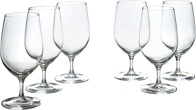 Stone Beam Traditional Iced Beverage Wine Glasses 14 Ounce Set Of 6