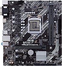ASUS Prime H410M-E LGA1200 (Intel 10th Gen) Micro-ATX Motherboard (M.2 Support, HDMI, D-Sub, USB 3.2 Gen 1, COM Header, TPM Header, 4K@60Hz)