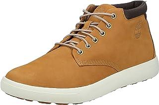 حذاء تشوكا من الجلد اشوود بارك، مقاس، لون بني فاتح للرجال من تيمبرلاند